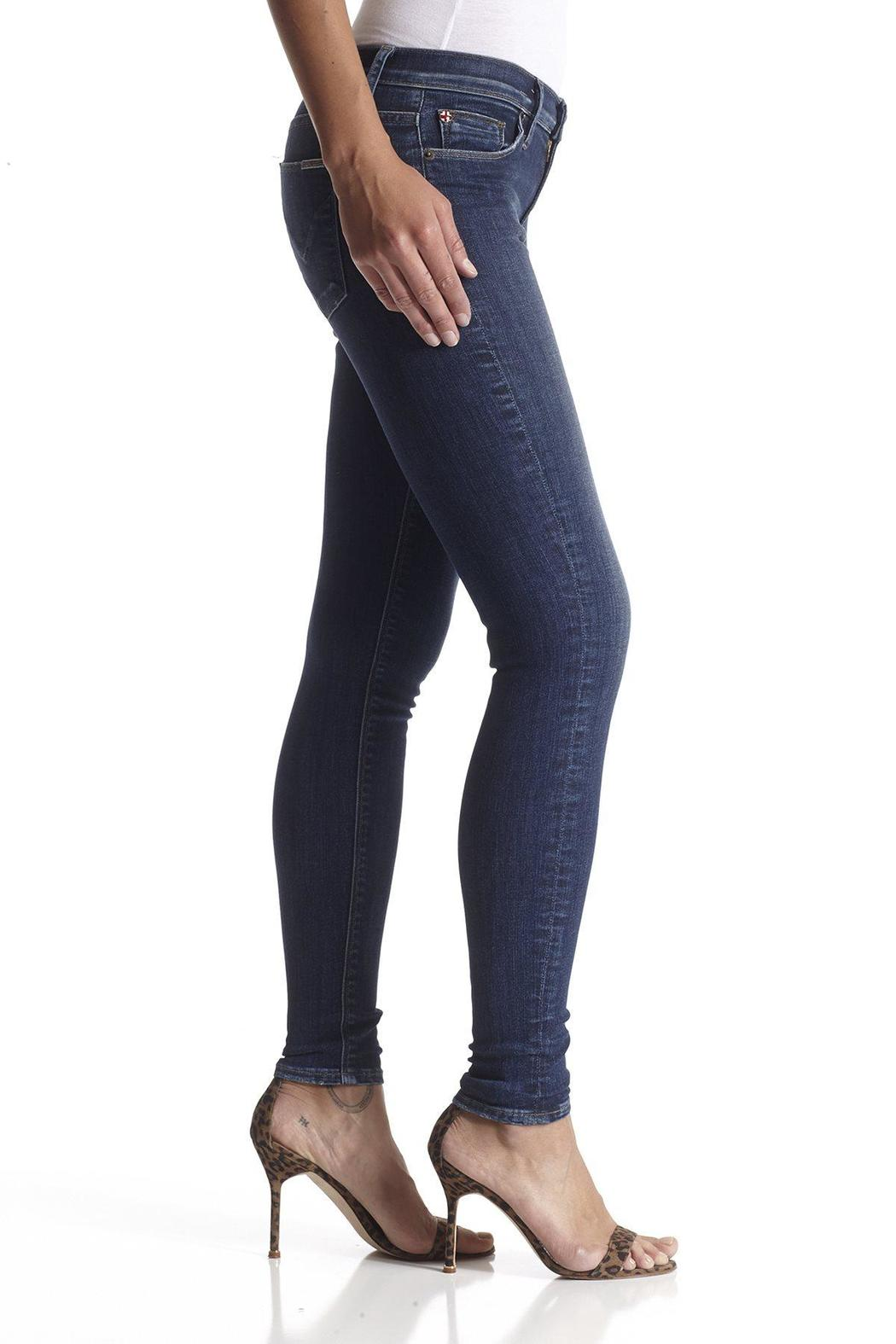 Hudson Jeans Nico Skinny Freestate - Side Cropped Image