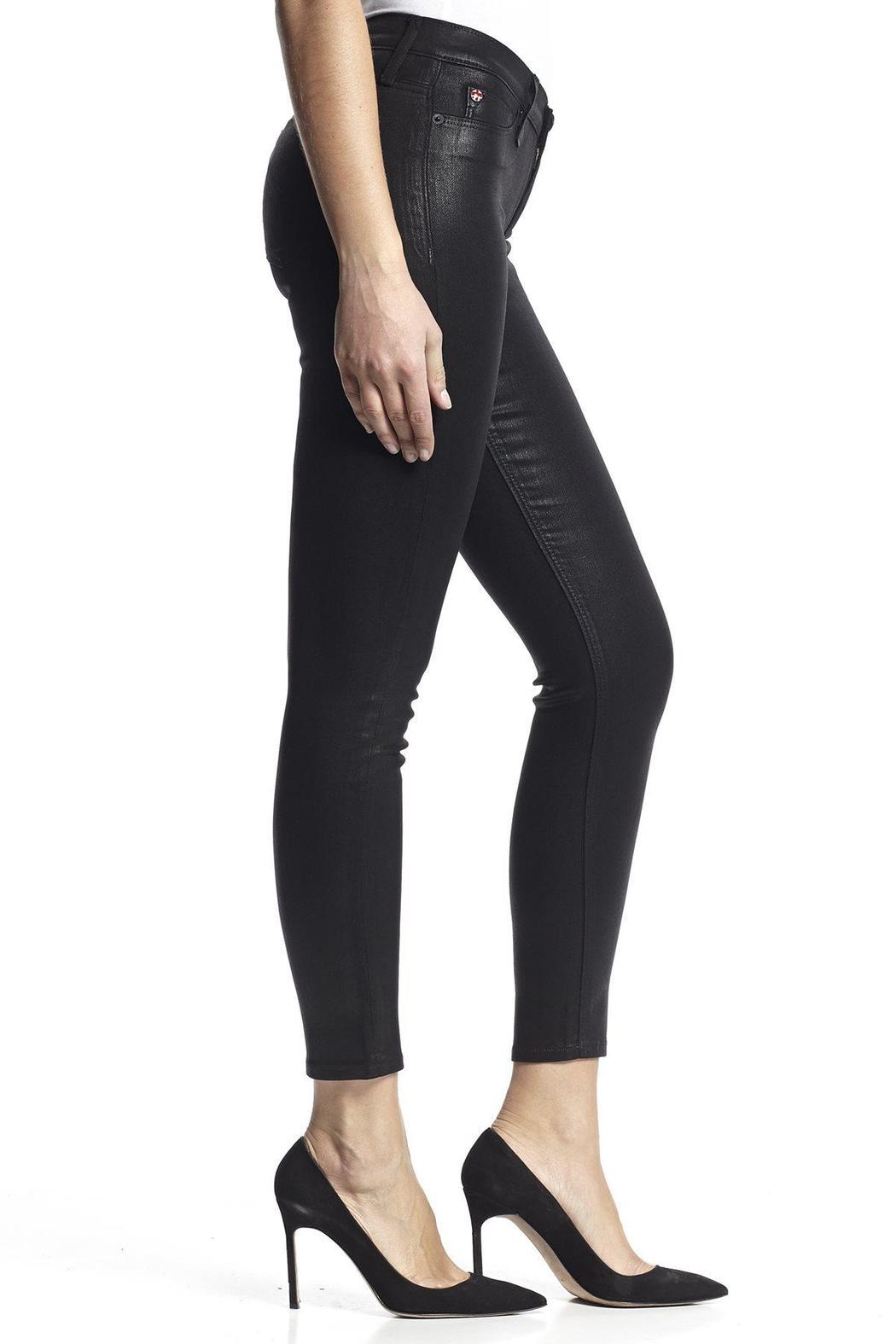 5dfbfc227e3 Hudson Jeans Nico Skinny Noir-Coated from North Shore by Assets Jean ...
