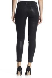 Hudson Jeans Nico Skinny Noir-Coated - Front cropped