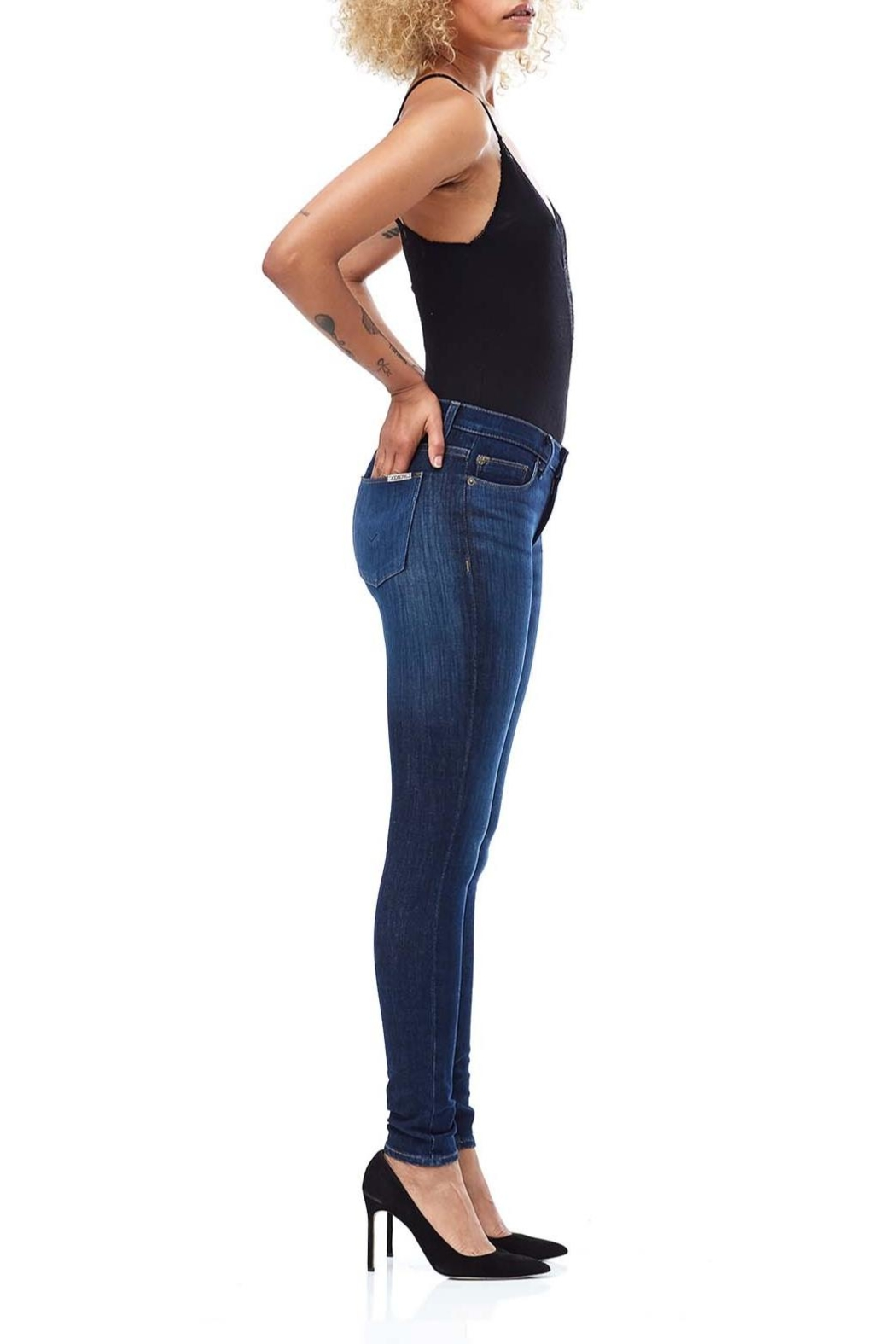 a95eb0b48a9 Hudson Jeans Nico Skinny Trance Jeans from North Shore by Assets ...