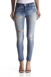 Hudson Jeans Raw-Hem Ankle Skinny - Front cropped