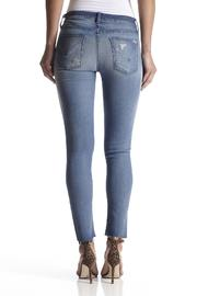 Hudson Jeans Raw-Hem Ankle Skinny - Front full body