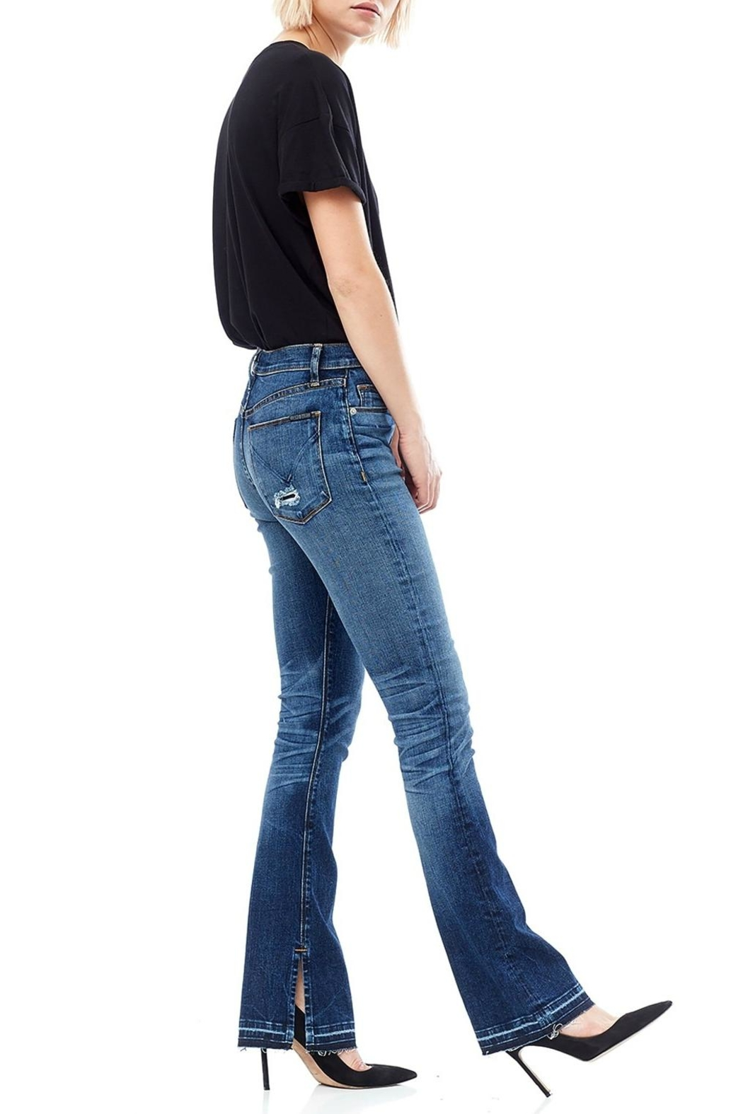 Hudson Jeans Released Hem Bootcut - Front Cropped Image