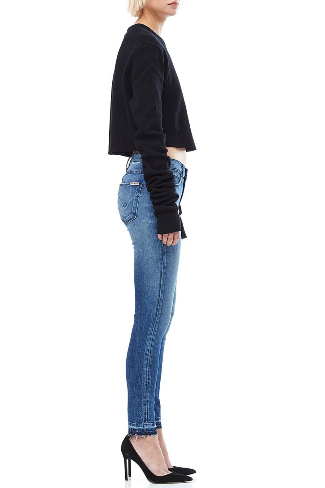 Hudson Jeans Ankle Skinny Jeans - Front Cropped Image