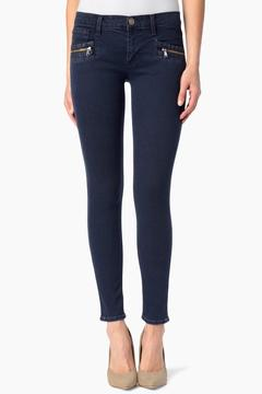 Shoptiques Product: Super-Skinny Zipper Jeans