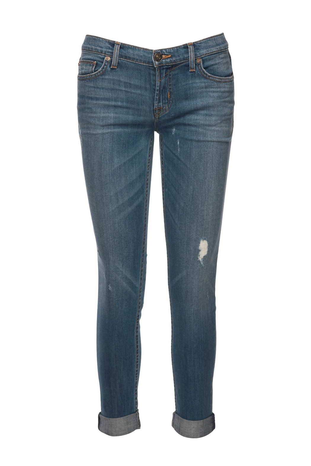 Hudson Jeans Tally Crop Skinny Jean - Front Full Image
