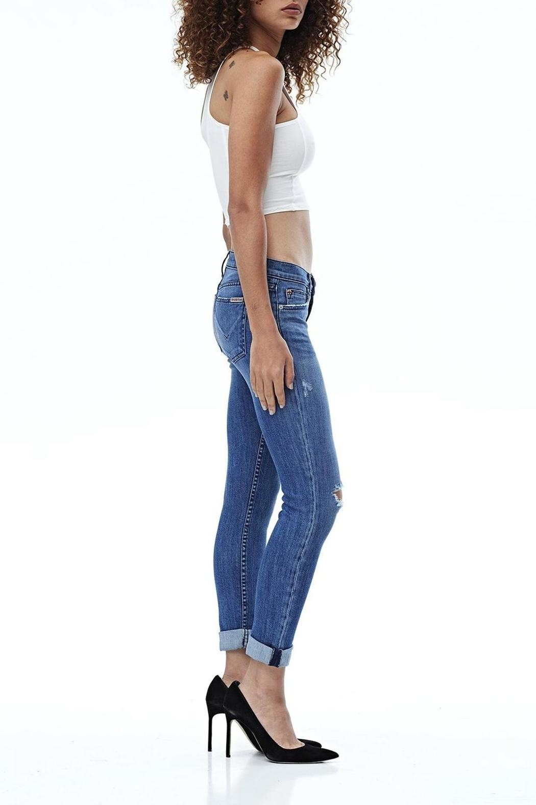 Hudson Jeans Tally Skinny Crop Encounter - Front Full Image