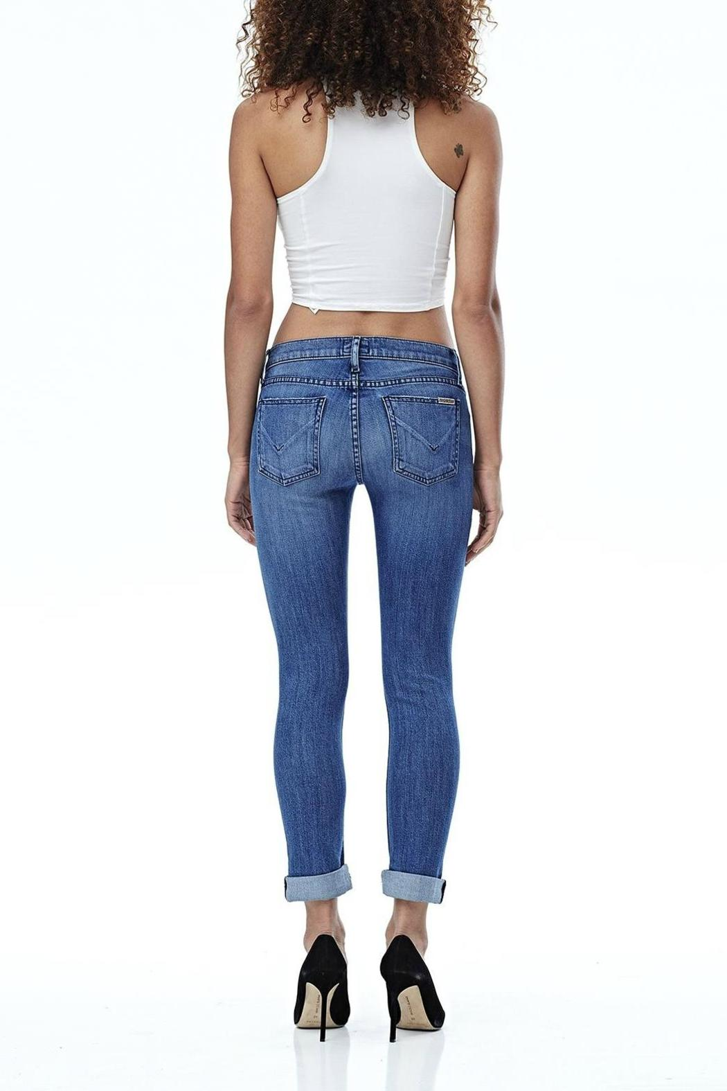 Hudson Jeans Tally Skinny Crop Encounter - Back Cropped Image