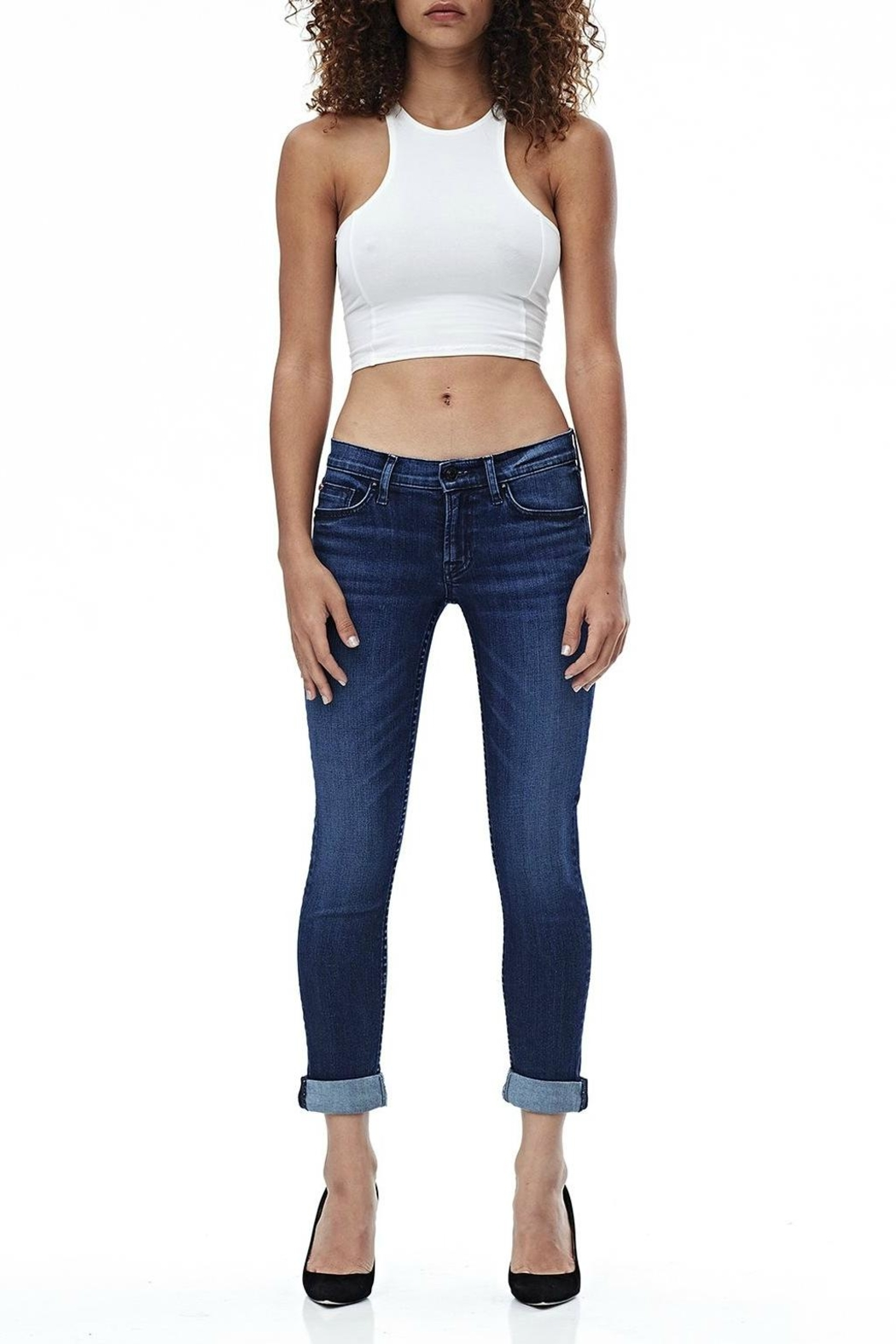 Hudson Jeans Tally Skinny Crop Jean - Main Image