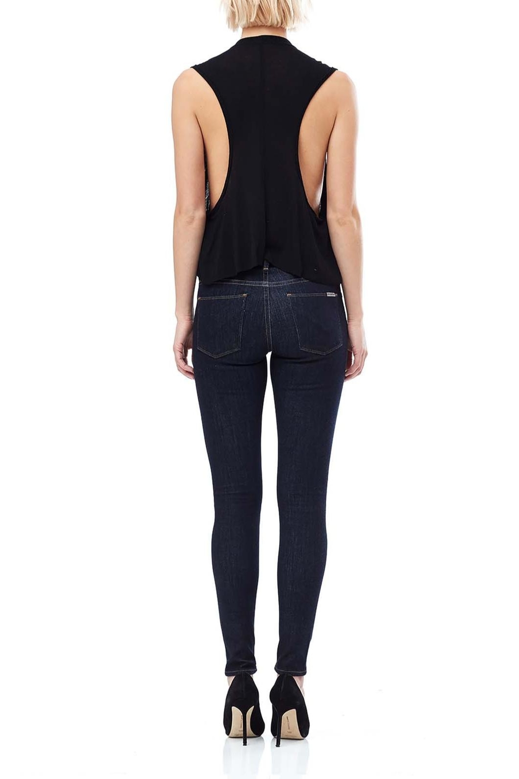 Hudson Jeans Timeless Essential Skinny Jeans - Side Cropped Image