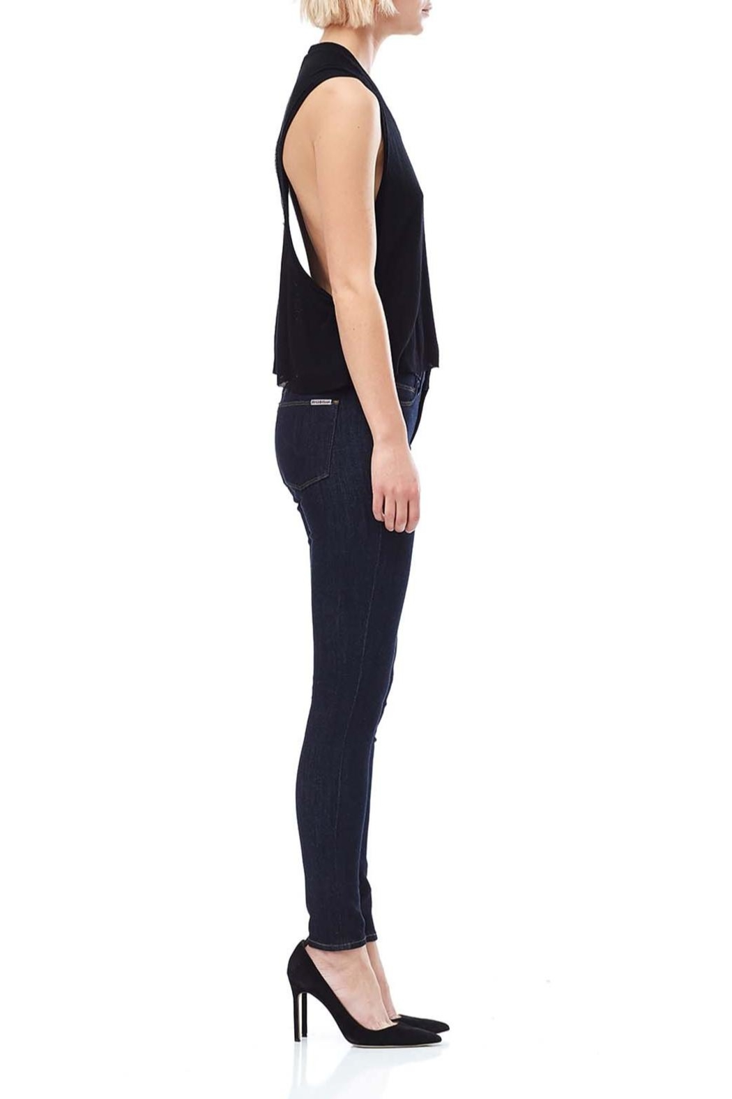 Hudson Jeans Timeless Essential Skinny Jeans - Front Full Image