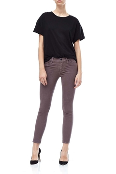 Shoptiques Product: Umber-Sateen Ankle Skinny