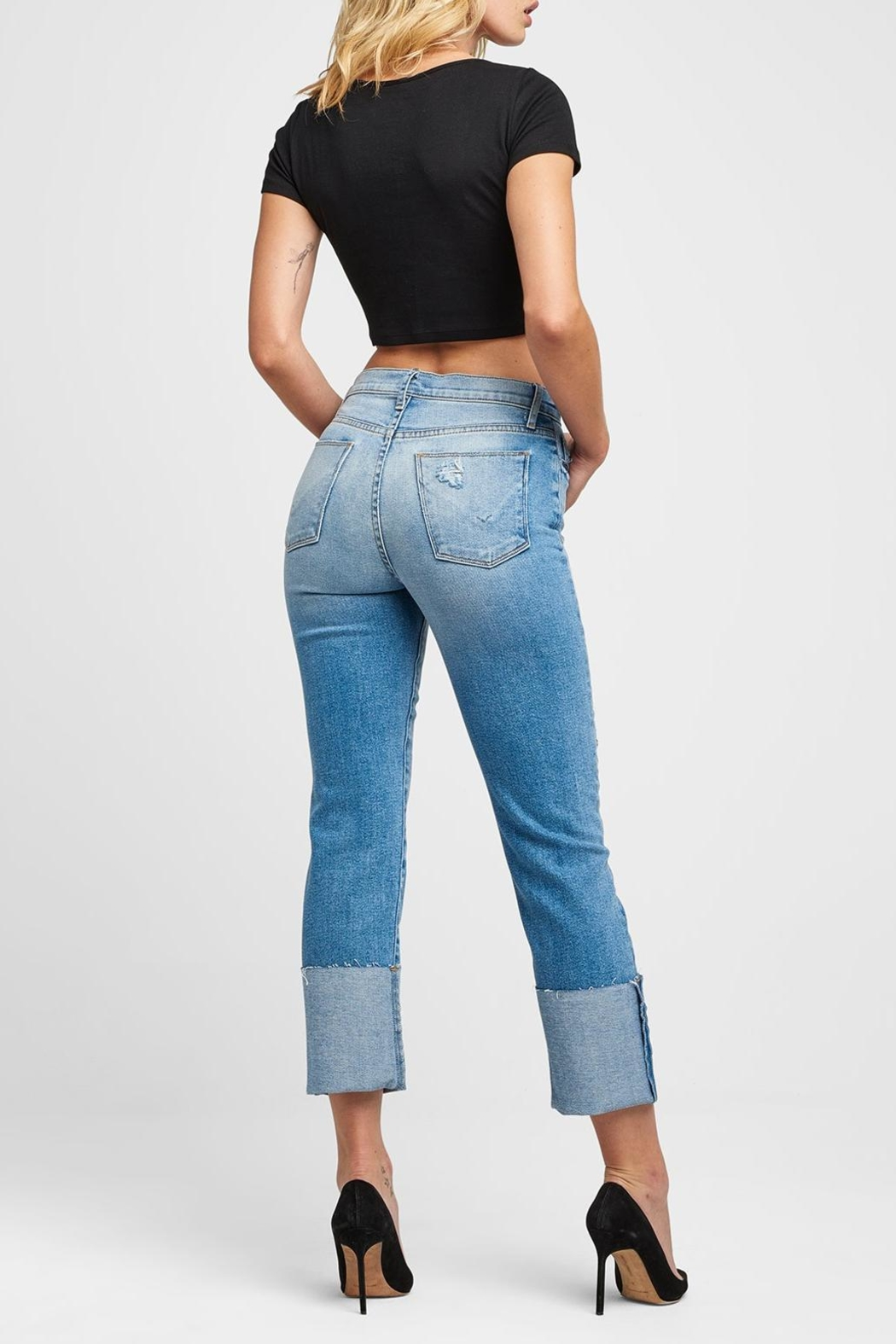 Hudson Jeans Zoeey Stright Jeans - Side Cropped Image