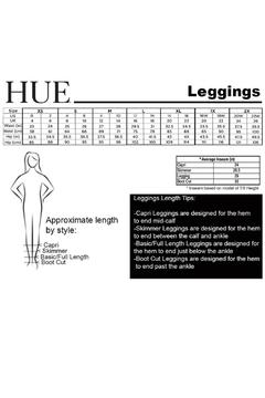 HUE Curvy Fit Legging - Alternate List Image