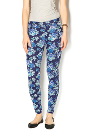 HUE Floral Print Jegging - Product Mini Image
