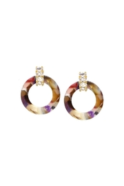 Lets Accessorize Huggie Hoop Earring - Product Mini Image