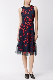 HUGO BOSS Enerva Bird Dress - Front full body