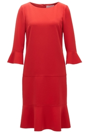HUGO BOSS Henryke7 Red Dress - Product Mini Image