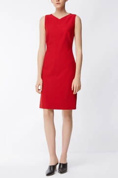 HUGO BOSS Red Sleeveless Dress - Product List Image