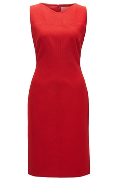 HUGO BOSS Red Sleeveless Dress - Alternate List Image
