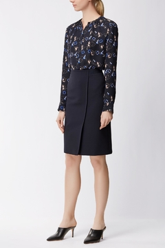 HUGO BOSS Wrap Pencil Skirt - Product List Image