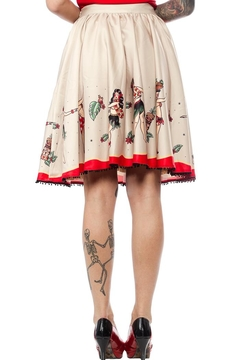 Sourpuss Hula Gals Skirt - Alternate List Image