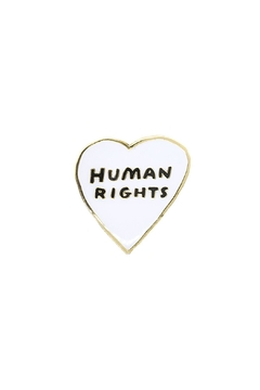 The Found Human Rights Pin - Alternate List Image