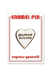 The Found Human Rights Pin - Front cropped