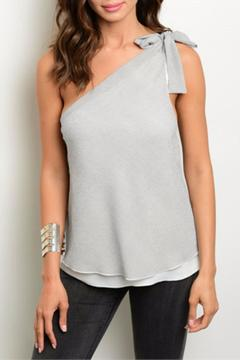 Shoptiques Product: Bow Shoulder Top