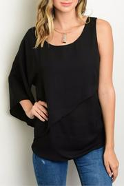Humanity One-Shoulder Ruched Top - Product Mini Image