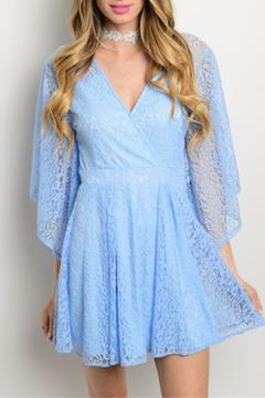 Shoptiques Product: Sky Lace Dress