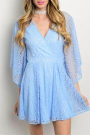 Humanity Sky Lace Dress - Product Mini Image