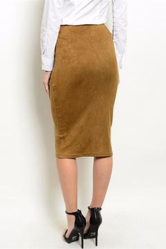 Shoptiques Product: Suede Midi Skirt