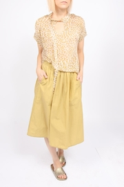 Humanoid Waxed Cotton Skirt - Product Mini Image