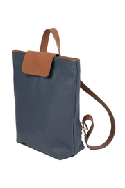 HUMAWACA Leather Trendy Backpack - Front full body