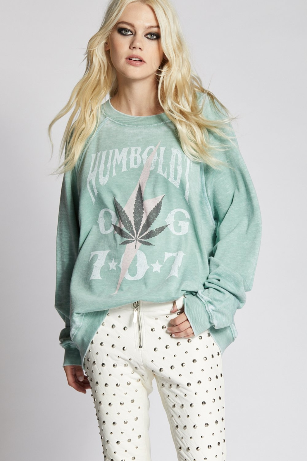 Recycled Karma Humboldt Weed Cozy Pullover - Main Image