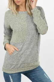 hummingbird Color Block Pullover - Product Mini Image