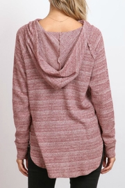 hummingbird Cowl Neck Hoodie - Side cropped