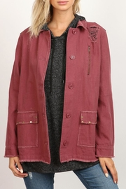 hummingbird Distressed Twill Jacket - Product Mini Image