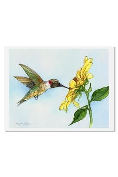 Sally Eckman Roberts Hummingbird Haven Print - Product List Image