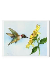 Sally Eckman Roberts Hummingbird Haven Print - Product Mini Image