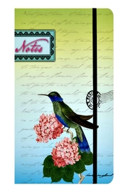 Patricia's Presents Hummingbird Journal - Front cropped