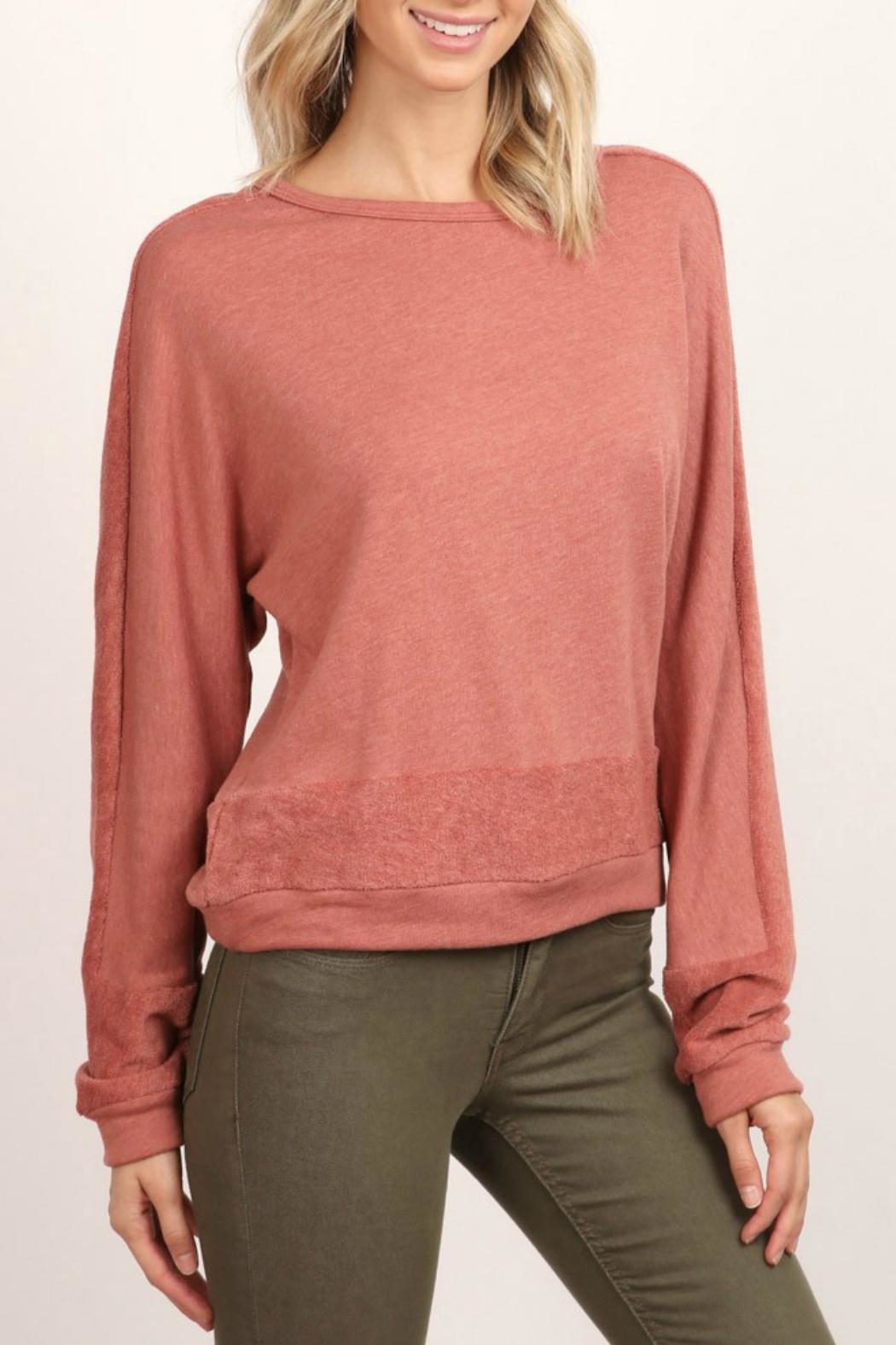 hummingbird Long-Sleeve Pullover Sweatshirt - Main Image