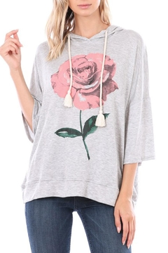 Shoptiques Product: Rose Hoodie Top