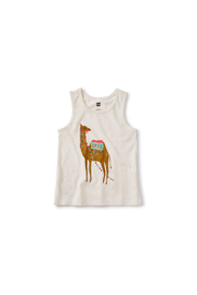 Tea Collection Hump Day Camel Tank - Front cropped