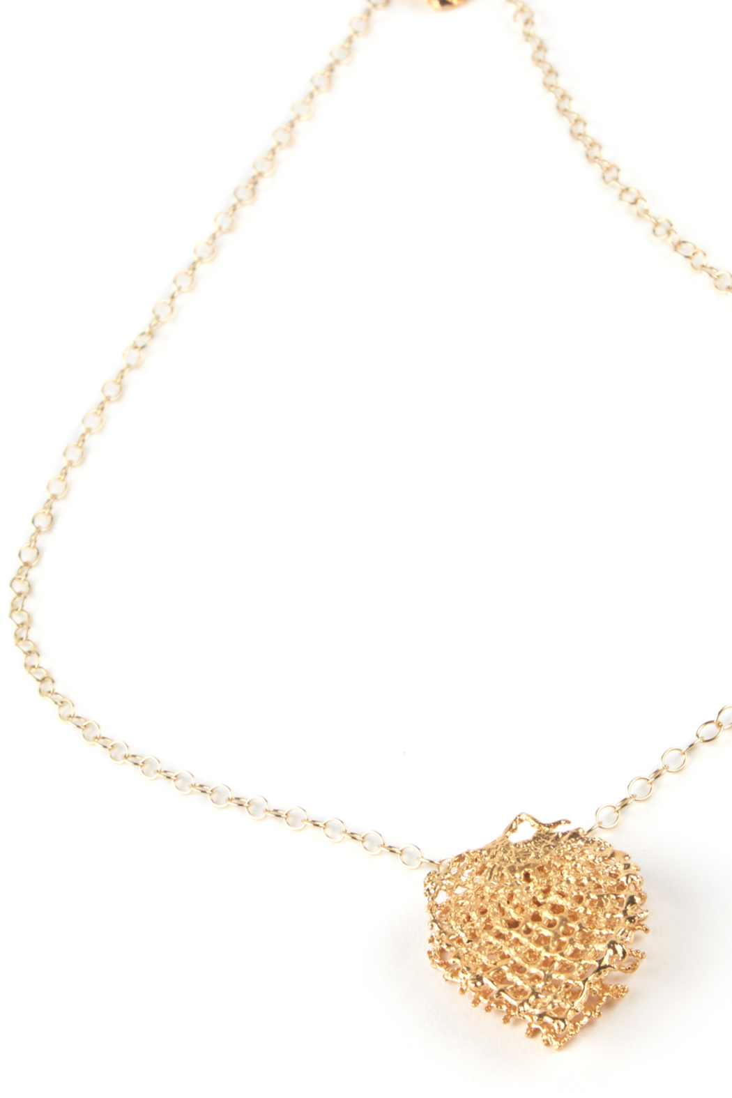 Jessica Ricci Jewelry Hungarian Lace Pendant Necklace - Front Cropped Image