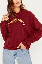Project Social T Hungover/Happy Hour Reversible Hoodie - Front cropped