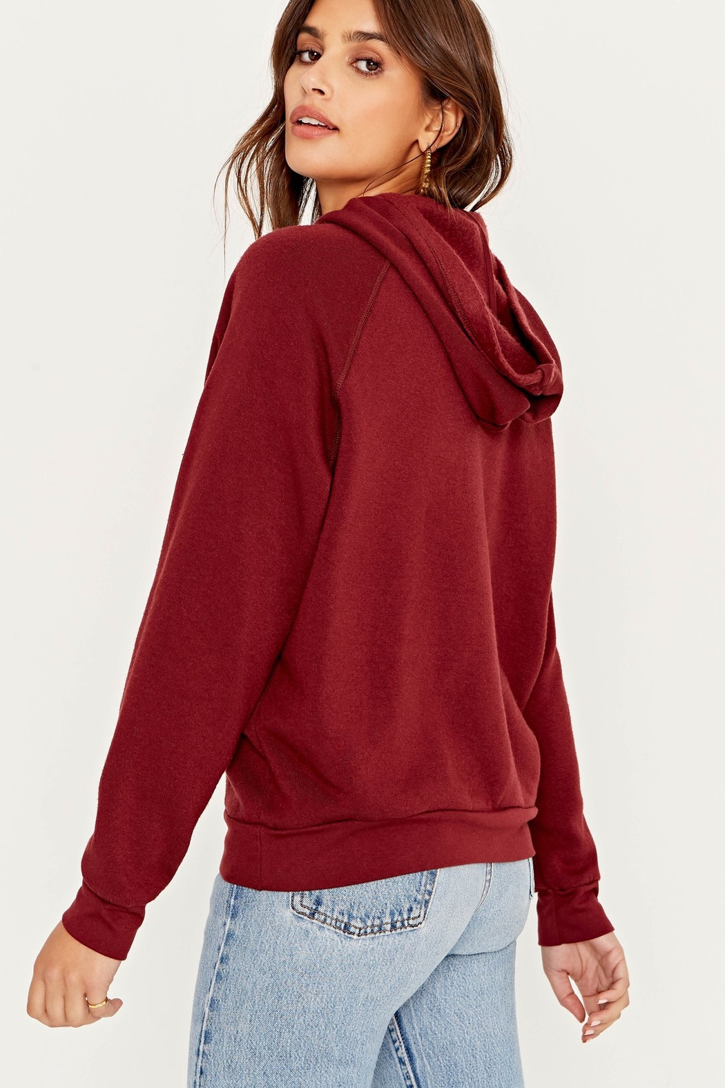 Project Social T Hungover/Happy Hour Reversible Hoodie - Side Cropped Image