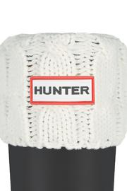 Hunter Welly Cable Sock - Front cropped