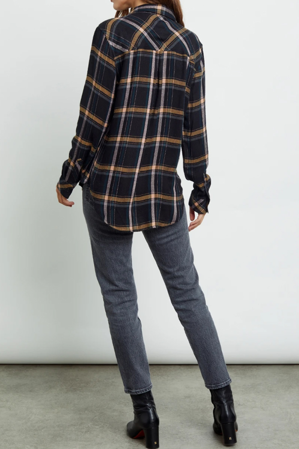 Rails Clothing Hunter Button Down - Side Cropped Image